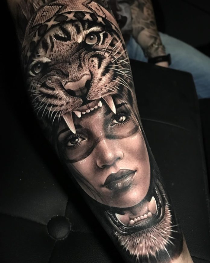 Tiger Tattoo: Meaning, Care and 80 Amazing Ideas